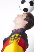 Germany fan — Stockfoto