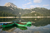 Crno Lake in Durmitor National Park — Stock Photo
