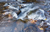 Stream to winter — Stock Photo