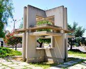 Monument (?!?) In avenue de Gasperi in Monteiasi (TA). An insignificant monument built in Monteiasi (TA) — Stockfoto