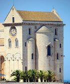 A picturesque view of the Cathedral of Trani (BA) — ストック写真