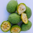 Unripe nuts — Stock Photo