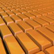 Stock Photo: Surface of Gold bars