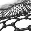 Stock Photo: Flexible Graphene Sheet