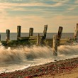 Old Sea Defences - Stock Photo