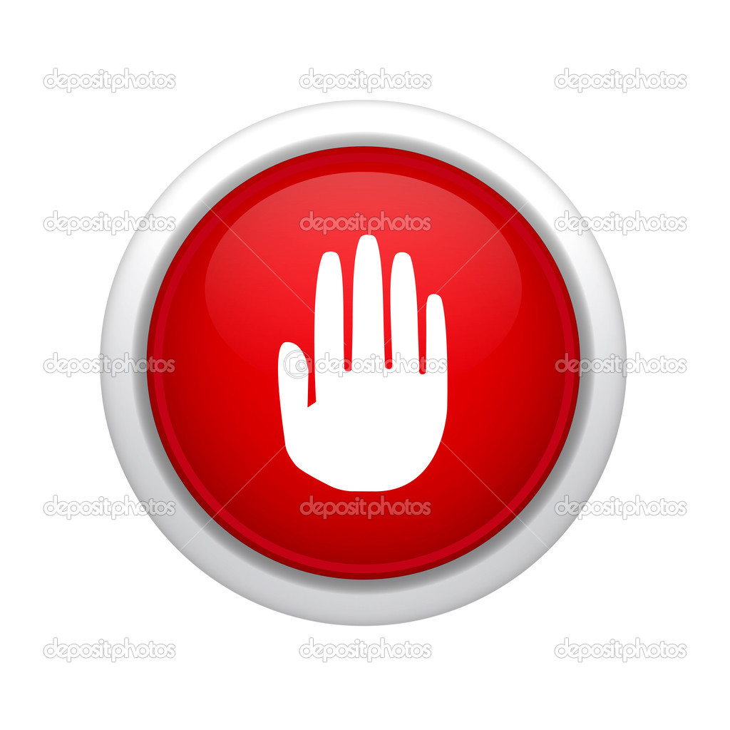 Stop button — Stock Photo #11348848