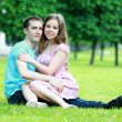 Romantic young couple — Stock Photo #11332132