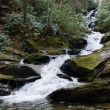 Waterfall in Appalachian mountains - Stock Photo