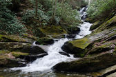 Waterfall in Appalachian mountains — Stock Photo