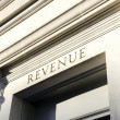 State revenue building — Stock Photo