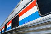 Passenger train car — Stock Photo