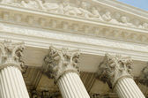 US supreme court portico — Stock Photo