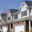 Stock Photo: Townhouses