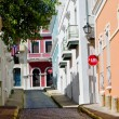 Stock Photo: Street in San Juan