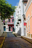 Street in San Juan — Stock Photo