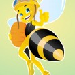 Worker Bee — Stock Vector