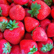 Background from strawberry berries — Stock Photo