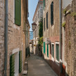 Street in Herceg Novi. - Stock Photo