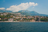 Herceg Novi from Bay of Kotor. — Stock Photo