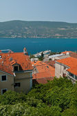 Herceg Novi and Bay of Kotor. — Stock Photo