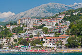 Herceg Novi. View from Bay of Kotor. — Stock Photo