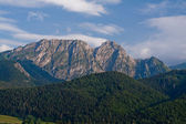 Giewont from Gubalowka. Tatra Mountains. Poland. — Stock Photo