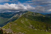 Czerwone Wierchy (Red Peaks) in Tatra Mountains. Poland — Stockfoto