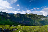 Slovakia from Czerwone Wierchy. View from Polish side of Tatra Mountains. — Stock Photo