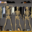 Royalty-Free Stock Photo: Skeletons in the Closet