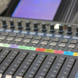 Stock Photo: Mixing desk