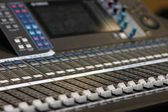 Mixing desk — Foto Stock