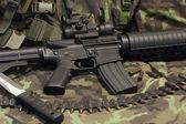 Modern weapon M4 — Stock Photo