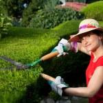 Gardener woman — Stock Photo #11389757