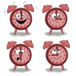 Alarm clock set — Vector de stock #11399650