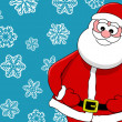 Funny smiling santa — Stock Photo #11404301