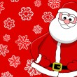 Funny smiling santa — Stock Photo #11404303