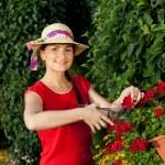 Gardener woman — Stock Photo #11408694