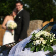 Stock Photo: Wedding car
