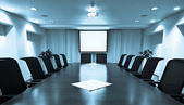 Meeting room — Stock Photo