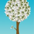 Royalty-Free Stock Vector Image: Euro tree