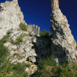 Towers of Devin castle - Stock Photo