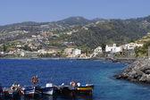 Balıkçı tekneleri santa Cruz. Madeira — Stok fotoğraf