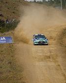 Algarve, Portugal - 31.03.: Petter Solberg (nor) fahren ist Ford Fiest Rs Wrc Rallye de Portugal 2012 am 31. März 2012 in Algarve, Portugal — Stockfoto