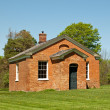 Old one-room schoolhouse — Stock Photo