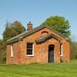 Stock Photo: Old one-room schoolhouse