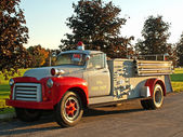 Classic fire truck — Photo