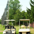 Golf carts — Stock Photo #11992323