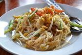 Thai cuisine (Pad Thai) — Stock Photo