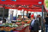 Vegetables market in Lyon — Stock Photo