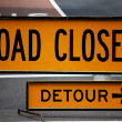 Road Closed — Stock Photo #11714464